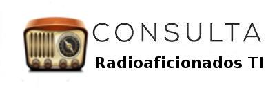 Consulta de Indicativos Radioaficionados TI registrados en la SUTEL